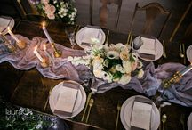 Tablescape Inspiration / Wedding and party tabletop inspiration