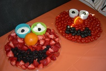 Elmo Birthday Party...an Extravaganza if you will! / Let's face it...we always go over budget, so here are some tips to help keep you on track! / by Nina Carter