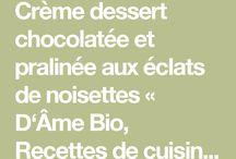 Dessert bio