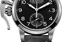GRAHAM Watches / Known as the father of the chronograph, George Graham was also the brains behind inventions such as the dead beat cylinder escapement, the first wall chronograph and the mercury pendulum. Perpetuating this spirit of remarkable innovations and technical expertise, Graham watches is now a contemporary watch brand dedicated to enthusiasts of the mechanical arts. http://www.jurawatches.co.uk/collections/graham-watches