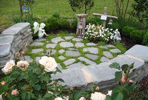 Memorial wall/garden