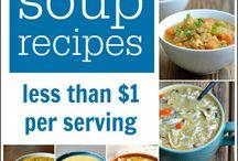 Soup / Healthy soup recipes