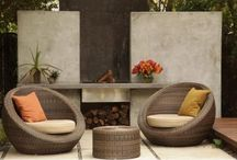 Outdoor Furniture / A selection of furniture, accessories, vessels, etc for your outdoor living spaces.