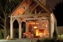 Cabins, houses, gazebos, and pavilions