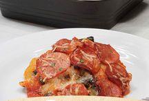 Pepperoni Ravioli Bake