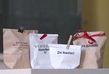 Geschenkideen / Tolle Geschenkideen