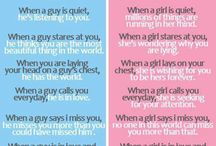 Difference from guys and girls lol