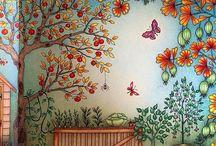 Johanna Basford - Secret garden