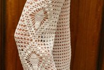 Pantaloni tricotați sau croșetați