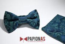 Set papion și batistă / Papioane și batiste by PapionAȘ