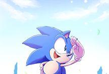Sonic y sus amigos / La mayoría de imágenes son de Sonic....pocas imágenes hay de los demás personajes❤❤