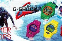 Ανακαλύψτε τα ΝΕΑ καλοκαιρινά ρολόγια  CASIO G-SHOCK!