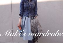 Maki's wardrobe tamaru maki