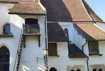 Hărman cetatea fortificată , Brașov, România