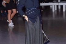 Fashion &Street style ( Wide, Wrap pants, Long skirts)