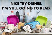 Housework can wait