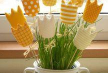 Frühling/Ostern / Ideen für Oster- und Frühlingsmarkt