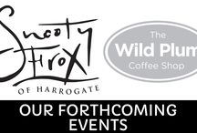 News and Events / There's always something new happening here at Snooty Frox and we have a calendar of fabulous and exclusive events you really don't want to miss, so get these dates in your diary! To register your interest, book a table or find out more about the events below please call us on 01423 815320 or e-mail us at info@snootyfrox.co.uk.
