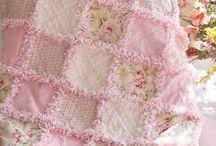 deka růžová střapatá