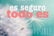 Frases Poderosas / Frases #autoestima, #positivismo, #reflexión, frases que te empujen hacia adelante