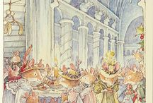 Brambly Hedge / Minutely detailed beautifully observed world