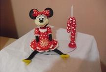 Biscuit / lembrancinhas p aniversário,casamento...topos de bolo....