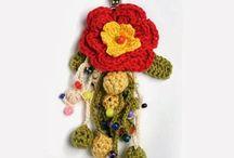llaveros de crochet