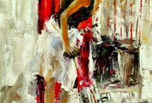 Bicycle Painting / Rowerowe w malarstwie