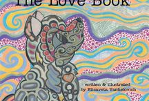 The Love Book and other Doodles / All my Pencil Crayon Art