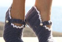 Crochet....Slippers