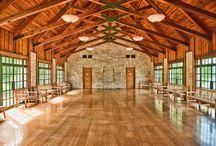 Winery event halls