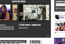 VIDEOS / watch the videos http://www.esteticamagazine.gr/videos-gr