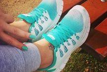 athletic shoes etc
