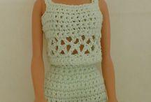 Crochet Barbie / #Crochet#Barbie