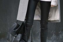 _fashion_ leather leggins