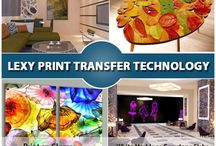 Interior Design / Printing multi color images on Hard Substrates like Granite Stones, Marble Stones, Glasses, Wood, Gypsum Boards, PVC Sheets and so on