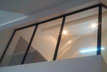 Verrière et Cloison Atelier / Canopy and Workshop Wall