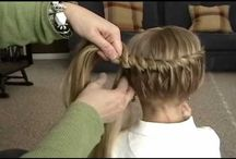 Cute hair for little girls!