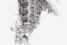 ARCHITECTURE: Urban Sketching