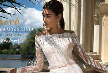 Svadobné šaty 2017