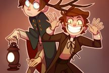 gravity falls/over the garden wall