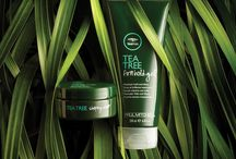 Tea Tree / Ideal for ingredient enthusiasts and eco-conscious consumers who seek a sensory experience, Tea Tree indulges you from head to toe and transforms an ordinary beauty ritual into a feast for the senses. #PMTingle / by Paul Mitchell