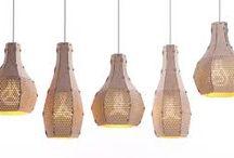 Plywood Lamps Candeeiros em Contraplacado
