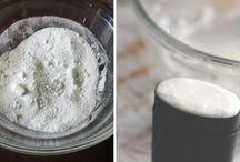 Desodorante natural y cremas