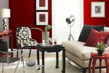 Seeing Red / Design MIX Furniture offers a variety of unique furniture and home decor in various beautiful shades of red. A collection of pieces from MIX and inspirational uses of red in interior design can be found here.