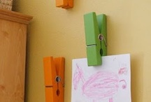 Kids artwork displays
