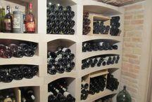 casiers à bouteilles modulables en pierre reconstituée / Casiers à bouteilles modulables en pierre de Bourgogne reconstituée et moulée; aménagement de cave à vin sur-mesure. Fabrication française. étagères, range-bouteilles, tablettes.