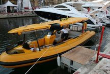 """water taxis / we build a range of water taxis, """"sea-taxi"""" outboard version and  """"Yellowjet"""" inboard diesel jet taxi"""