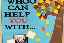 Bulletin Boards - School Counseling / School Counseling Bulletin Boards / by Danielle Schultz School Counselor Blog