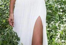 Vestidos y peinados de novia